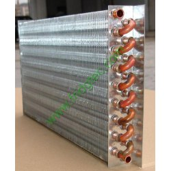 Air cooled copper tube fin condenser manufacturers from china