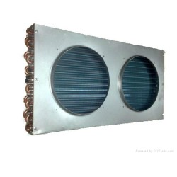 Chinese factory supply cold room copper tube aluminum fins condenser