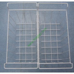 china made good quality white powder coated wire basket