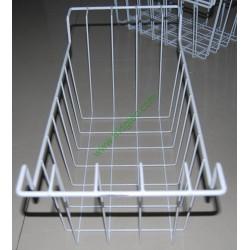 China factory supply wire basket for chest freezer, ice cream freezer, white powder coated