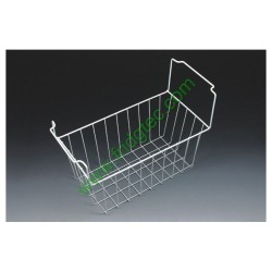China white  powder coated steel wire basket