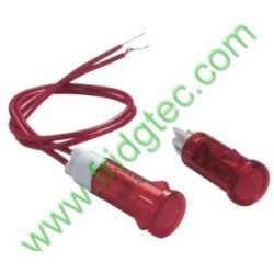 Good quality red green color  neon indication lamp export from china
