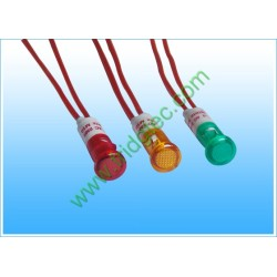 China good quality red  green yellow indicator light export factory NIK03