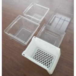 china good quality up freezer drawer injection mould  die