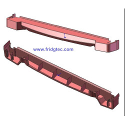 china fridge door cap injection mould die producer