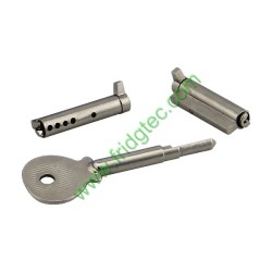 PR108-35 China good quality display cooler sliding door brass key lock