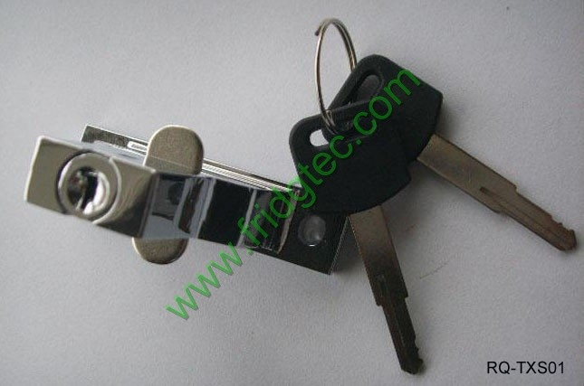 Pictures of RQ-TXS01 refrigerator door lock with keys exporting from