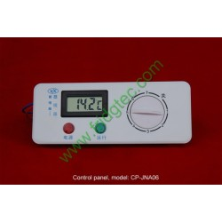 Chest freezer control panel with digital thermometer  CP-JNA06
