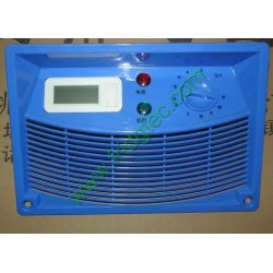 China good quality display cooler lower air duct with control panel