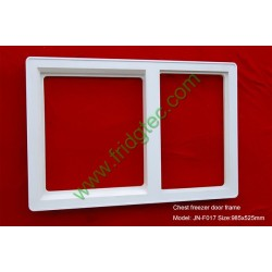 F017 china ready  chest freezer two section door frame supplier