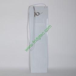 China white color painted freezer aluminum plate roll bond evaporator