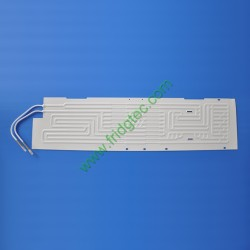 China export fridges double side inflation roll bond evaporator