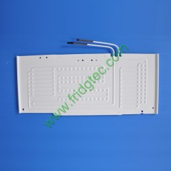 China export good quality freezers double side inflation roll bond evaporator