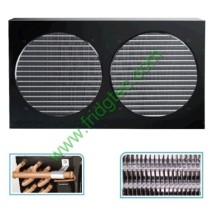 Air cooled copper tube fin condenser for small condensing unit