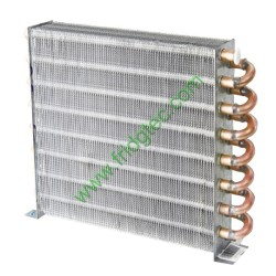 CHINA GOOD QUALITY COPPER TUBE FIN TYPE AIR COOLED EVAPORATOR