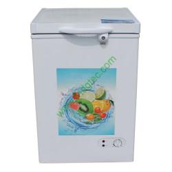 china top open solid door mini chest freezer BD-108