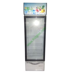 Upright glass door display freezer SC-189, 189 Liters, CE & ROHS, Good price