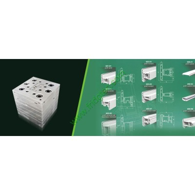 China manufacturing good quality PVC profile extruding die