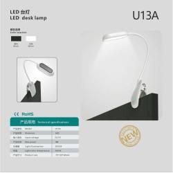 Clamp model LED desk lamp