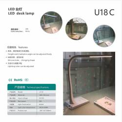 High quality LED desk lamp mill in china