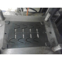 HIPS Plastic Cover Spring Injection Mould 8 cavities