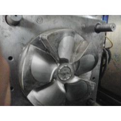 ABS plastic fan blade O.D254mm Injection Mould 1 cavity