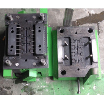 Nylon PA66 femal screw injection mould, Number of Cavity: 16