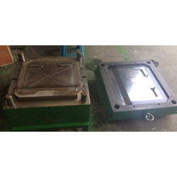 PS evaporator upper cover injection mould, German 2738 mould steel