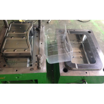 Refrigerator GPPS Crisper Drawer injection mould guarranty shot 500,000pcs