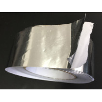 Aluminum foil tape without liner for refrigeration