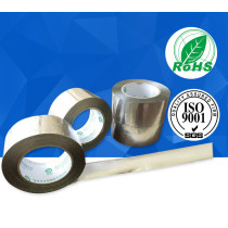 Corrosion resistant, flame retardant aluminum foil tape