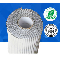 0.03mm corrugated waterproof aluminum foil tape with liner