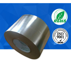 Extra thickness fireproof hot melt senstive adhesive fiberglass aluminum foil tape