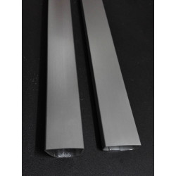 Refrigerator door handle aluminum tube profile