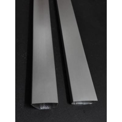 Refrigerator Frdige Freezer Door Handle Aluminum Profile, by customer design