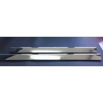 Silver Chrome Plated Aluminum Profile Refrigerator Door Handle