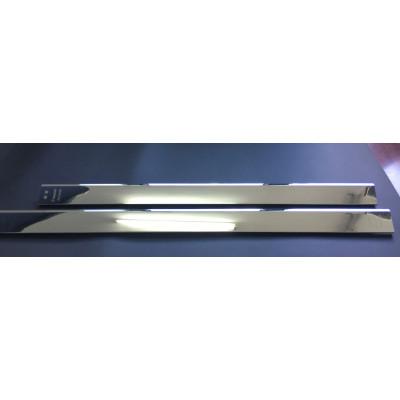 Silver Chrome Plated Aluminum Profile Refrigerator Door Handle