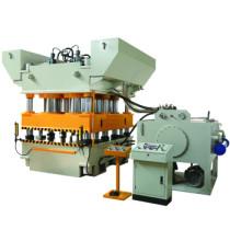Metal Steel Door Skin Pattern Stamping Embossing Hydraulic Press Machine
