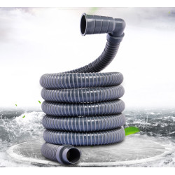 Universal washing machine drainage pipe hose, compatible with multi nozzle sizes
