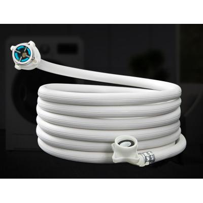 Universal washing machine flexible water inlet hose pipe