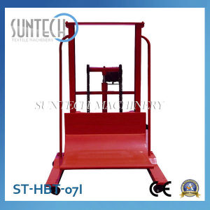 SUNTECH Hydraulic Cloth Fabric Roll Doffing/Dosing Trolley
