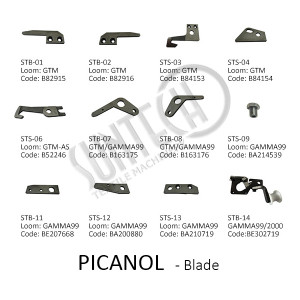 PICANOL Loom Accessories Selvage Blade Weft Blade