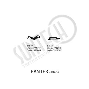 PANTER Loom Accessories Weft Blade Selvage Blade