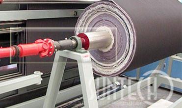 SUNTECH Roll to A-frame Batch Automatic Edge Textile Inspection Machine