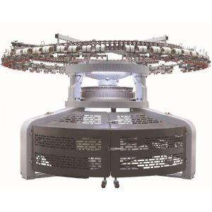 Suntech Rib/Interlock/ Pique/Auto Stripper/Jacquards Double jersey Open-width Knitting Machine