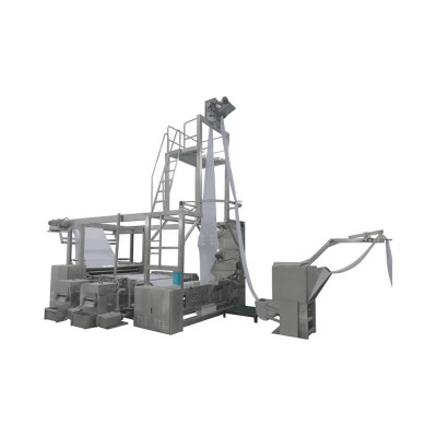 SUNTECH Evolution type for raw and wet fabrics tubular slitting machine