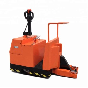 SUNTECH Textile Industry Electric Tow Tractor A-Frame Trolley