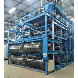 Suntech Heavy Duty Warp beam Weaver beam Stacker Storage System