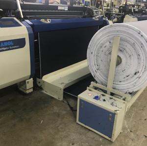 SUNTECH Automatic Synchronization With The Weaving Machine Batching winder Fabric Winding Machine