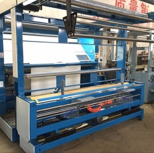 Knitting mills factory Open Width Knitted Fabric Inspection Machine